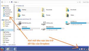 Lưu trữ dữ liệu trực tuyến với những ứng dụng mới