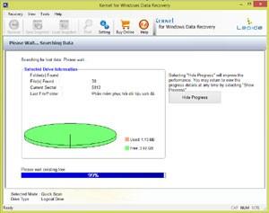 Khôi phục dữ liệu ổ cứng bằng phần mềm siêu tốc