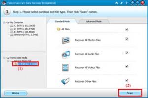 Phần mềm khôi phục dữ liệu riêng cho windows