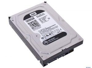 HDD 500Gb WD5003AZEX chỉ dùng cho ghi hình