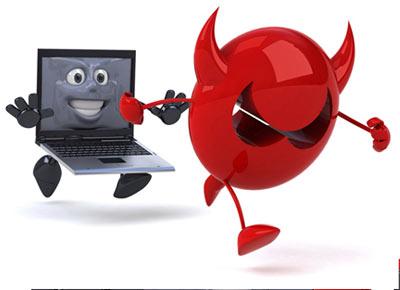 xử lý máy tính bị nhiễm virus