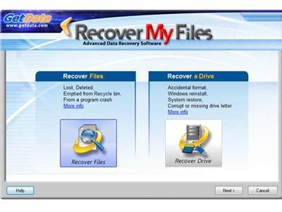Phần mềm cứu dữ liệu Recover My Files